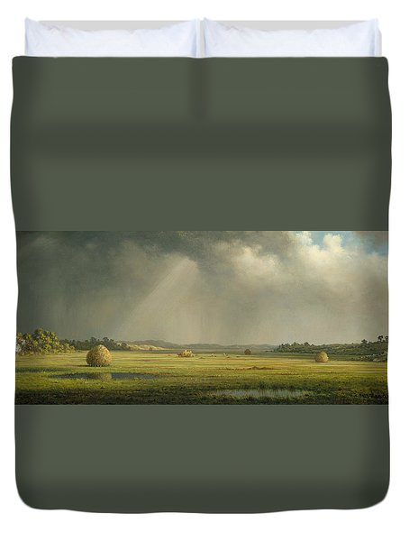 Newburyport Meadows  Duvet Cover