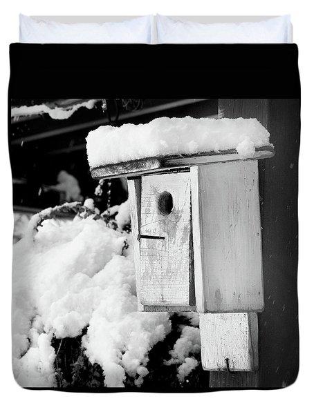 Newly Fallen Snow Duvet Cover