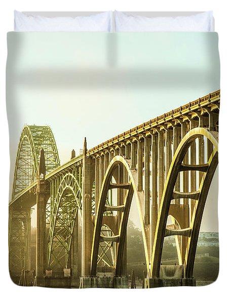 Newport Bridge Duvet Cover