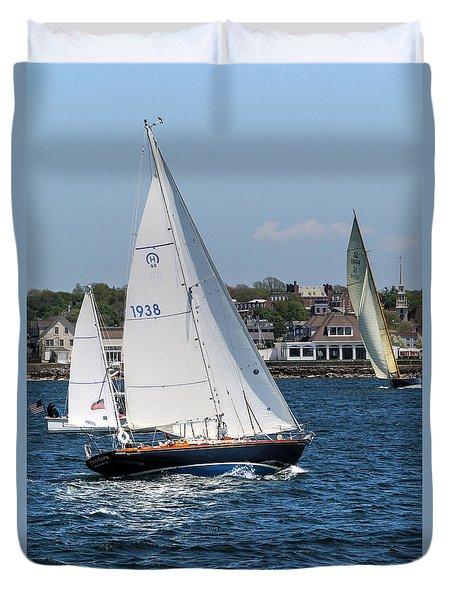 Newport Rhode Island Duvet Cover