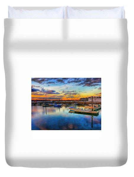 Coastal Colors Duvet Cover