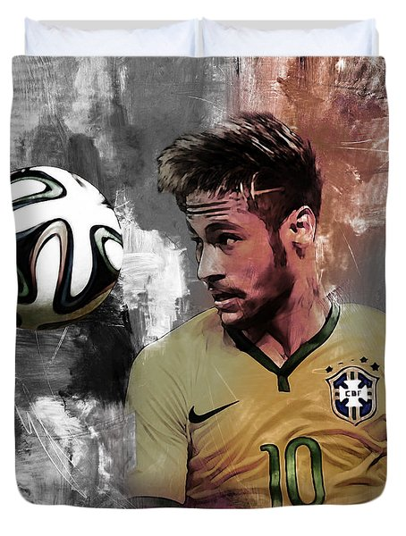 Neymar 051a Duvet Cover