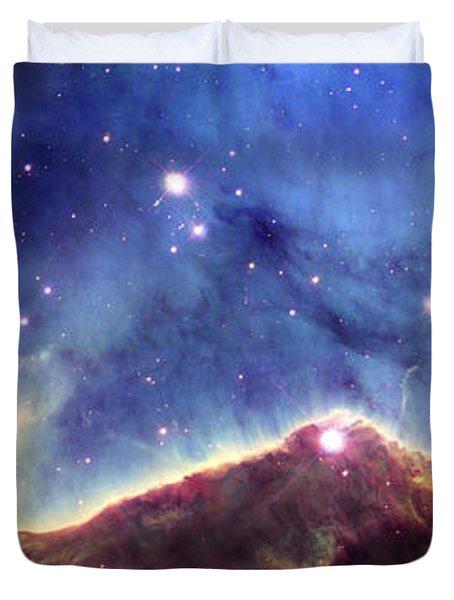 Ngc 3324  Carina Nebula Duvet Cover by Nicholas Burningham