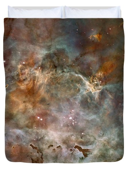 Ngc 3372 Taken By Hubble Space Telescope Duvet Cover