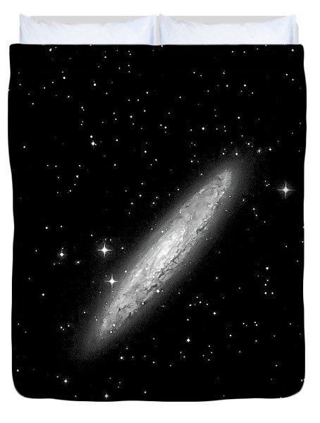 Ngc253 The Sculptor Galaxy Duvet Cover