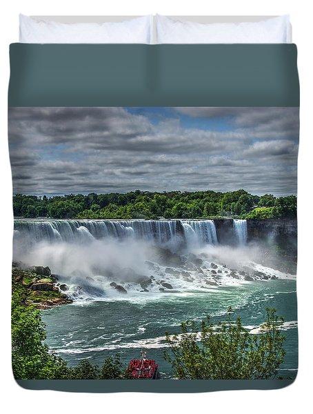 Niagara Falls 2 Duvet Cover