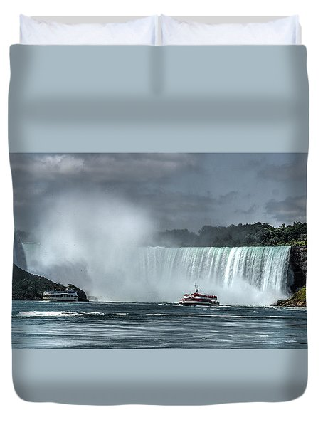 Niagara Falls 5 Duvet Cover