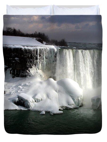 Niagara Falls 6 Duvet Cover by Anthony Jones