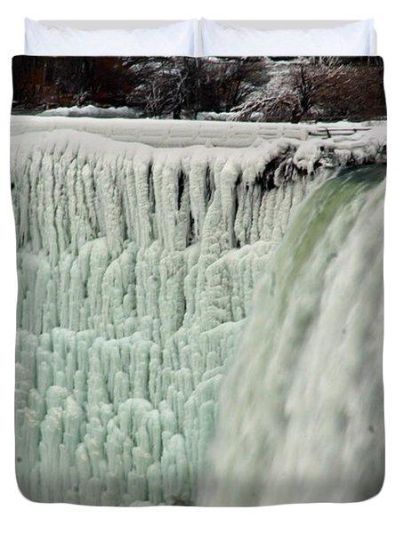 Niagara Falls 7 Duvet Cover by Anthony Jones