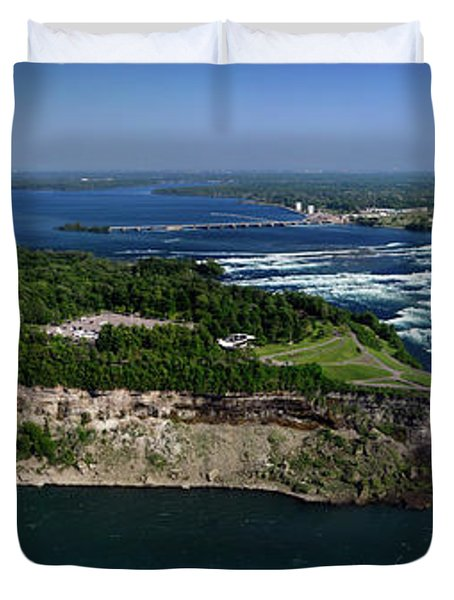 Niagara Falls Duvet Cover by Oleksiy Maksymenko