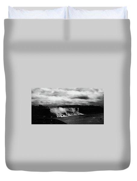 Niagara Falls - Small Falls Duvet Cover