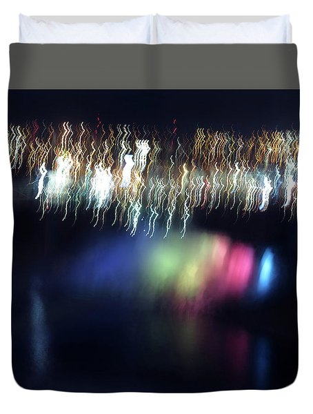Light Paintings - Ascension Duvet Cover