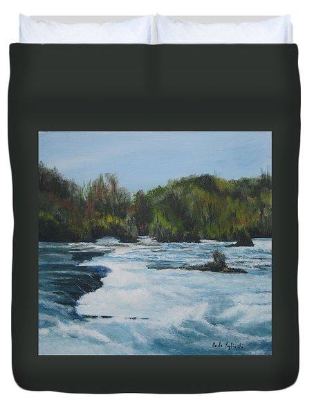 Niagra Rapids Duvet Cover