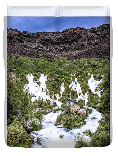 Niagra Springs Idaho Journey Landscape Photography By Kaylyn Franks  Duvet Cover