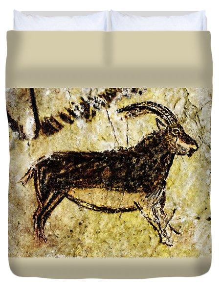 Niaux Goat Duvet Cover