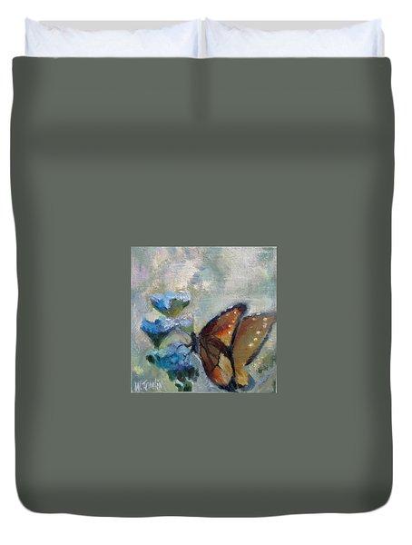 Nibbling Nectar Duvet Cover