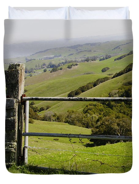 Nicasio Overlook Duvet Cover