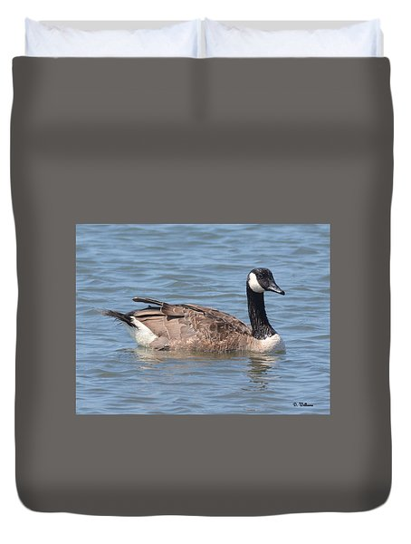 Nice Day For A Swim Duvet Cover