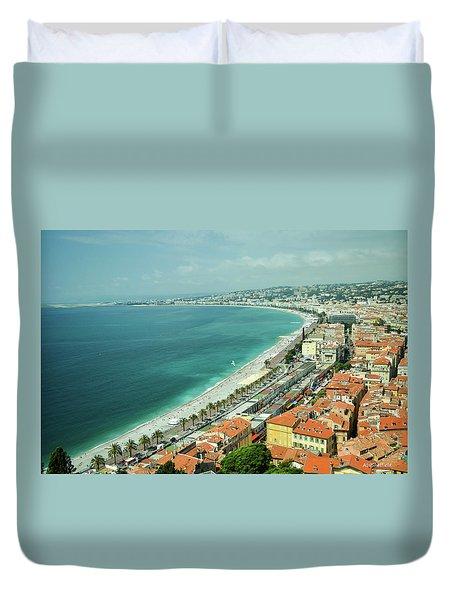 Nice, France Duvet Cover