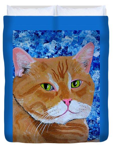 Nice Kitty Duvet Cover