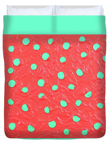 Nickels And Dimes Duvet Cover