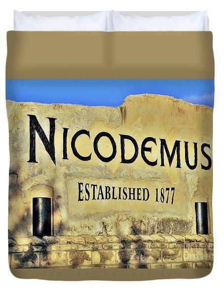 Nicodemus, 1877 Duvet Cover