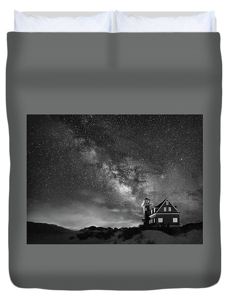 Night At The Station Duvet Cover