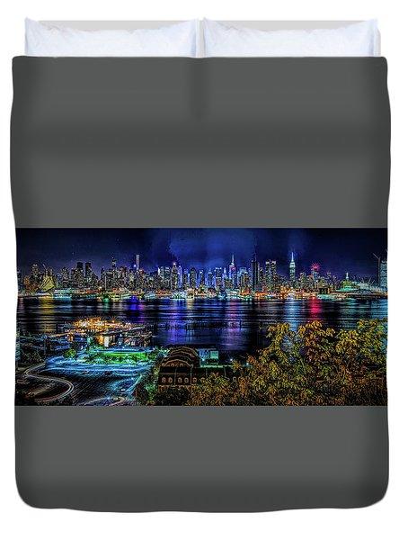 Night Beauty Duvet Cover