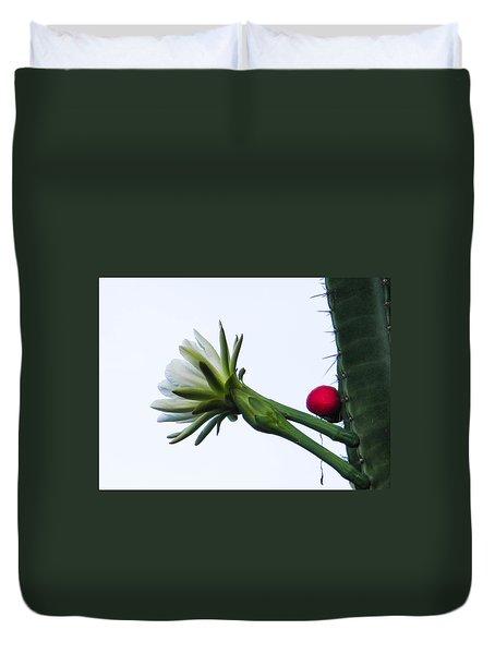 Night Bloomer Duvet Cover