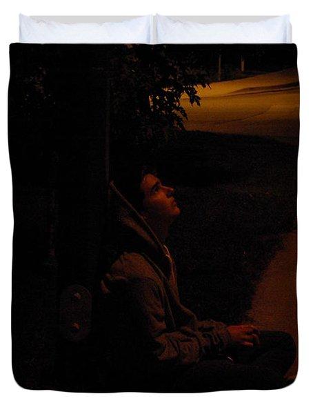 Night Boy Duvet Cover