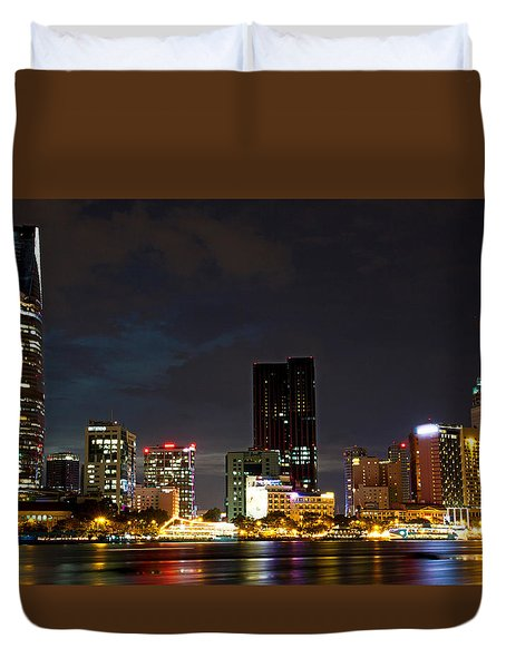 Night City Duvet Cover