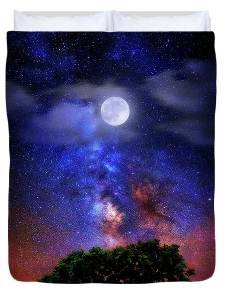 Night Colors Duvet Cover