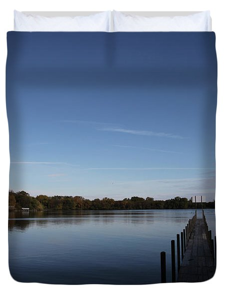 Night Fall Duvet Cover