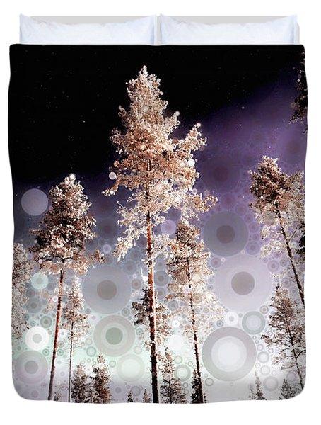 Night Falling Duvet Cover