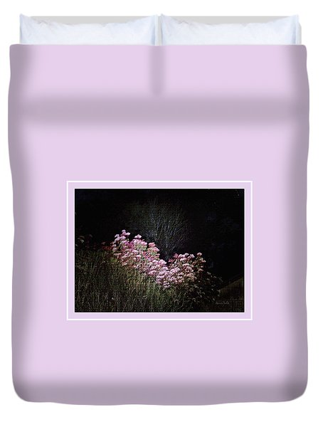 Night Flowers Duvet Cover by YoMamaBird Rhonda