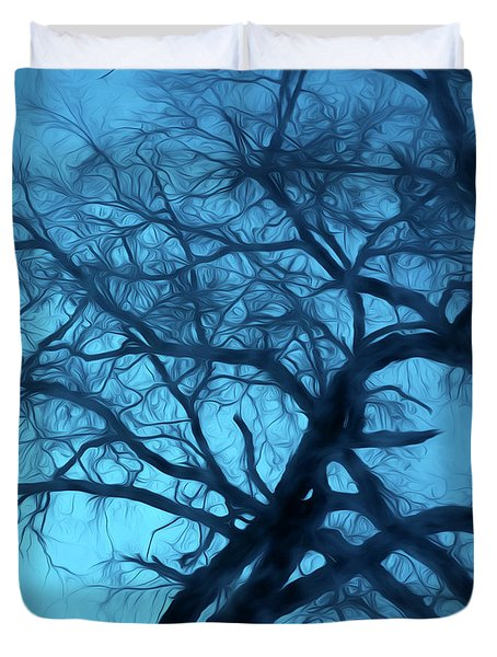 Night Glow Duvet Cover by George Robinson