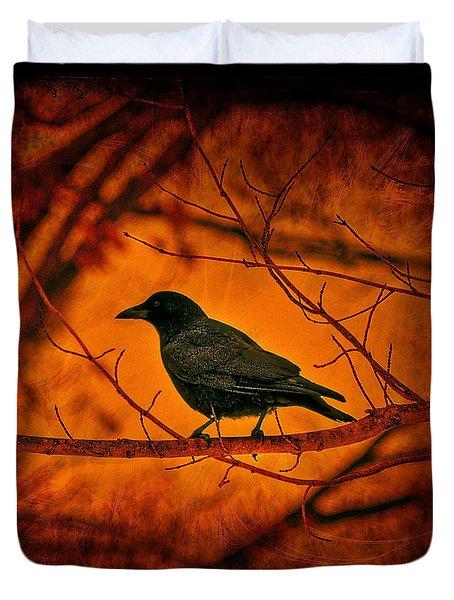Night Guard Duvet Cover