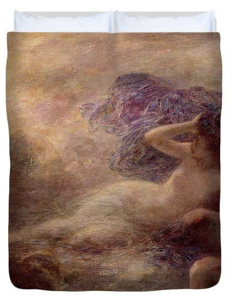 Night Duvet Cover by Ignace Henri Jean Fantin Latour