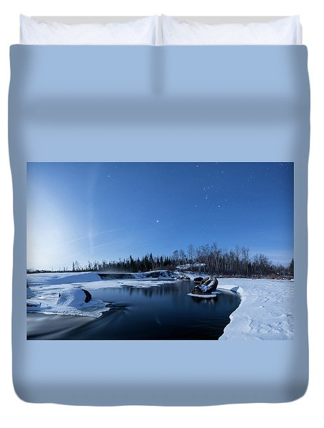 Night Into Day Duvet Cover