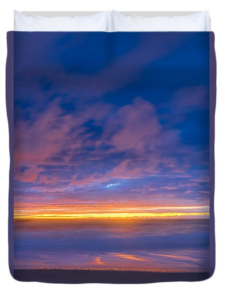 Night Is Coming Duvet Cover