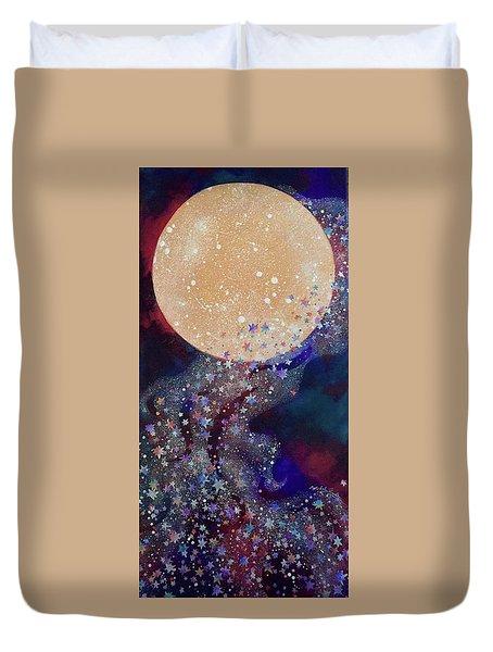 Night Magic Duvet Cover