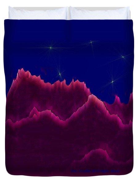 Night. Moon Duvet Cover