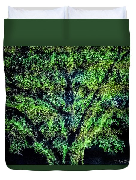 Night Moss Duvet Cover