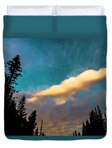 Duvet Cover featuring the photograph Night Moves by James BO Insogna