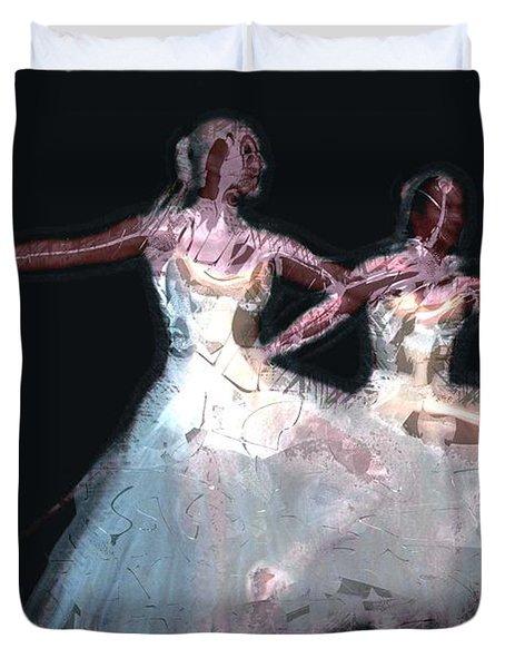 Night Of The Ballet Duvet Cover