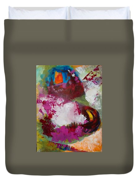 Night Out Duvet Cover