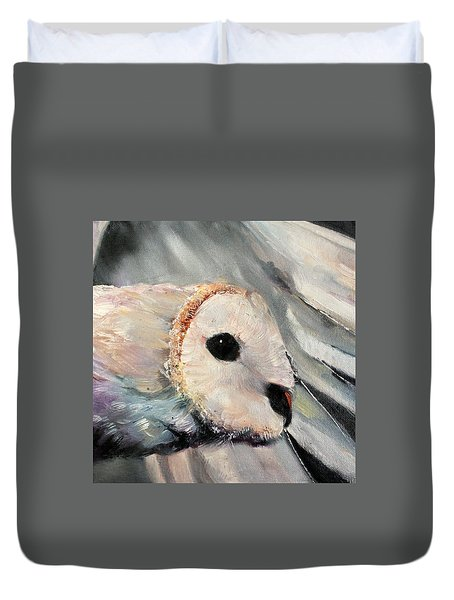 Night Owl Duvet Cover by Michele Carter