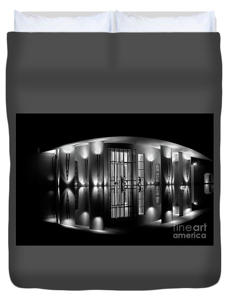 Night Reflection Duvet Cover