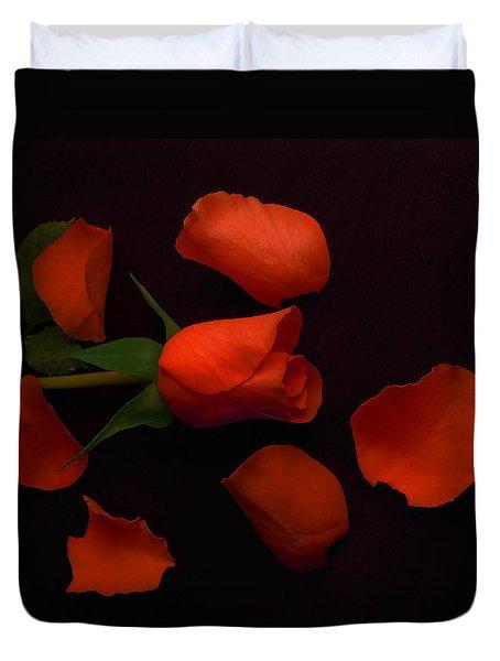 Night Rose 2 Duvet Cover