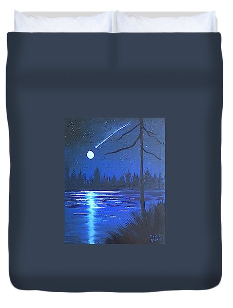 Night Scene Duvet Cover